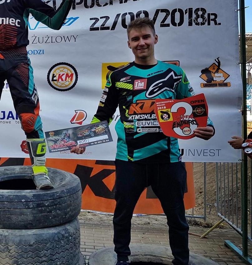 oskar-kaczmarczyk-mistrzostwa-polski-superenduro-2018-II-wicemistrz-